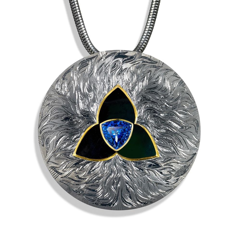 "<a href=""/jewellery/blazing-trefoil-pendent-alan-craxford"">Blazing Trefoil Pendent ( Alan Craxford )</a>"