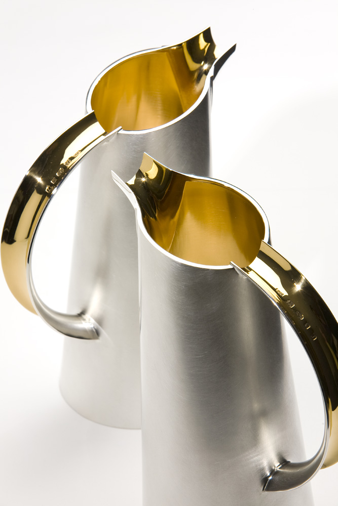 "<a href=""/jewellery/pair-water-jugs-2008-silver-giding-capacity-125-litres-photo-simon-armitt"">PAIR OF WATER JUGS, 2008. Silver, giding. Capacity 1.25 litres. Photo: Simon Armitt</a>"